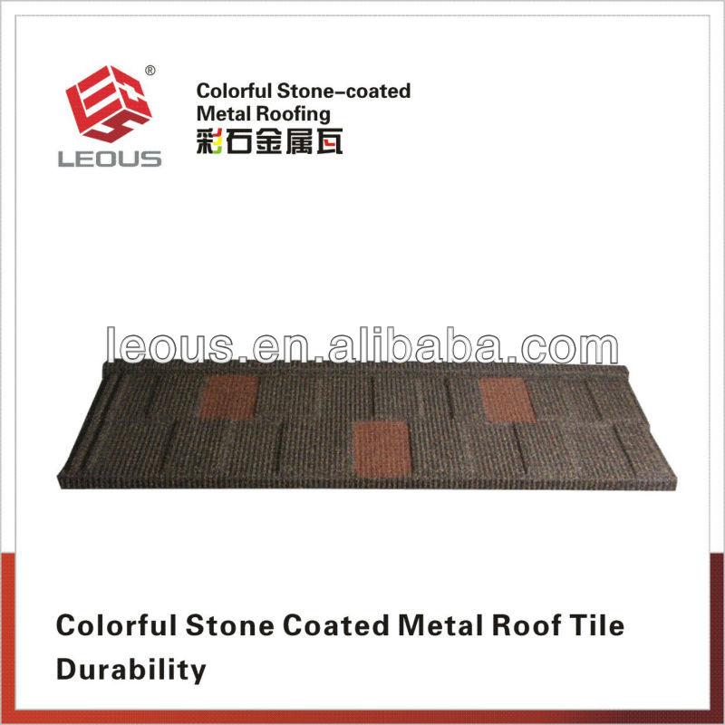 Aluminum Zinc Steel Roof Tile |Stone Coated Aluminum Roofing|Colorful Stone Coated Metal Roof Tile
