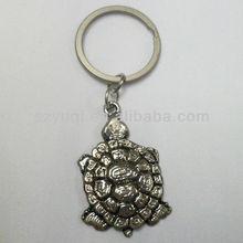 Metal tortoise key chain toy pet
