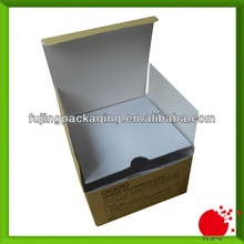 Bespoke cardboard cosmetic box with corrugated board for protection