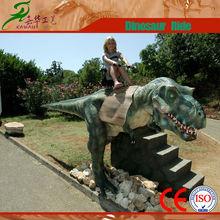 fantastic carnival robotic equipment moving dinosaur