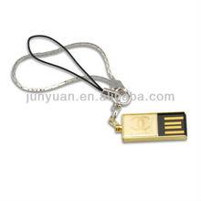 Mini metal USB flash driver with different logo
