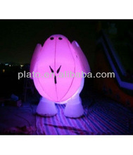 2013 new inflatable lighting led cartoon / inflatable cartoon with colorful leds