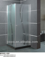 Chrome polished with frame abs new design luxury shower cabin shower room