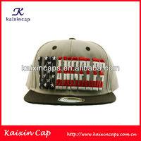 Men's USA Flag Stars Stripe Cap With Sticker On Brim Los Angeles Snap Back/Baseball Cap Hat