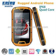 Original S09 IP67 GPS/3G/Bluetooth/Wifi/G-Sensor/Proximity sensor/light sensor/Gyroscope rugged waterproof cell phone