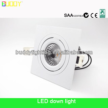 12W square surface mounted led downlight