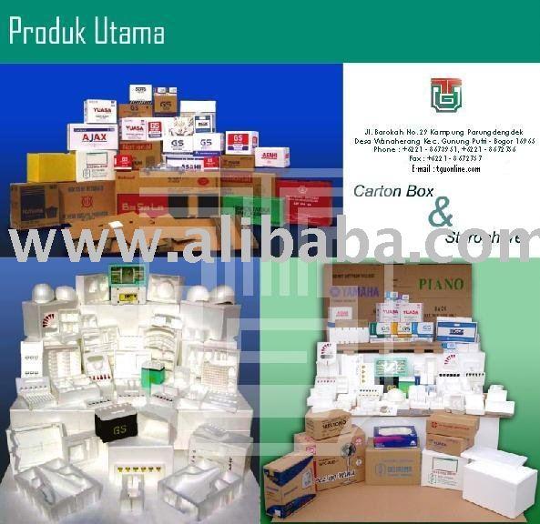 Styrofoam & Carton Box