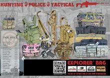 GUN BAG, TACTICAL BAG, MOSSY OAK DUFFEL , LUGGAGE