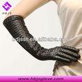muy sexy damas largos de cuero guantes de la ópera