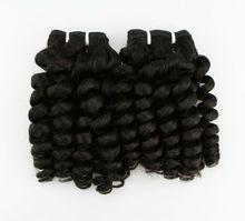 Grade AAAA hot sale unprocessed free weave hair packs