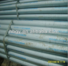 Hot dipped Galvanized steel pipe GI pipes BS 1387 EN10255 grooved H M L