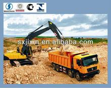 shaanxi shacman336 horse power dump truck price