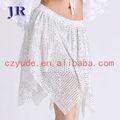 La danza de lentejuelas falda falda de baile en las niñas faldas cortas q- 6013#