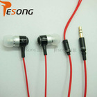 Best selling earphone inline volume ear buds for mobile phones with mic K