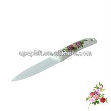 "4"" white ceramic Handle Kitchen ceramic paring knife"