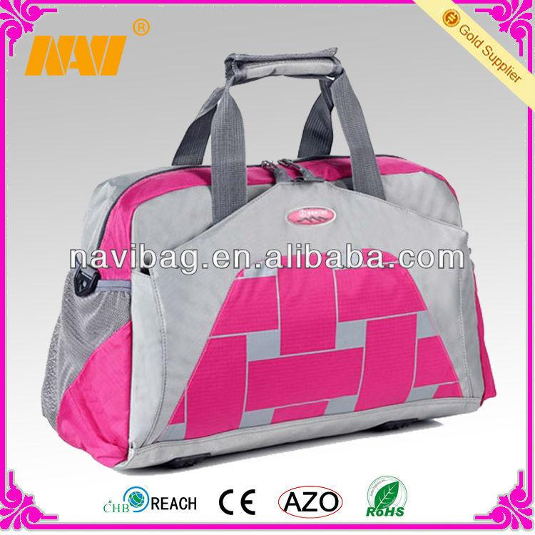 latest nylon sports duffle bag