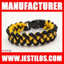 2013 latest design cheapest unique team paracord bracelet