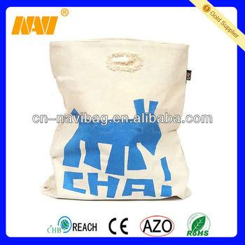 2013 cotton canvas tote bag