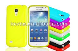 S line TPU soft phone case for Samsung galaxy s4 mini case