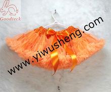 Halloween girl's dresses halloween orange baby dress ,girl's tutus, kids Halloween pettiskirt