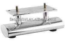 Hot sale chromed metal sofa legs/iron sofa leg