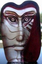 Mats Jonasson Art Glass Sculpture Kiwok