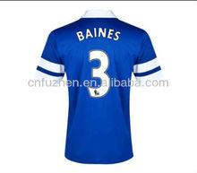 2013 2014 new football jersey shirt grade original thailand football kits kit football team