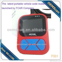 2013 New Fcar F501 OBDII Code Reader for Gasoline Cars