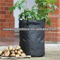 Eco- ambiente de tela no tejida de material vegetal plantting bolsa