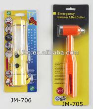 Life Hammer Escape Hammer Flash Life Hammer;LED Life Hammer;Multi-Functional car emergency led safety hammer