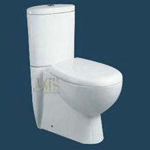washdown single flush s-trap toilet