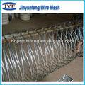 Concertina rasoir barbelé de fer/concertina barbelé fil de clôture/bon fil de fer barbelé clôture