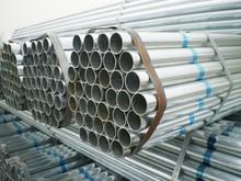 Galvanized steel round tube, pipe, G.I pipe