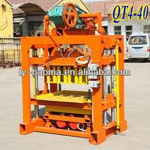 QT4-40 Manual concrete block machine brick making machine