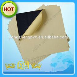 0.5mm black self adhesive pvc sheet for photo album