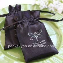 2014 unique envelop design-eco friendly satin wedding favor cellophane bags wholesale