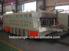 corrugated cardboard printing slotting machine manufacture