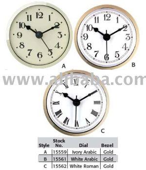 "3 5/16"" (83mm) Beveled Bezel Clock Fit Ups Inserts"