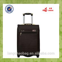business travel PU luggage set suitcase