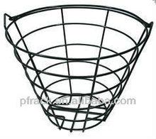 Golf metal PE basket