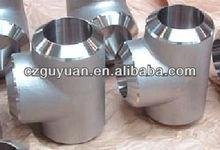 stainless steel butt welded tee