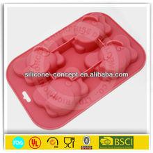 elephant shape silicone baking mold