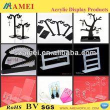 Exquisite acrylic dangler display rack