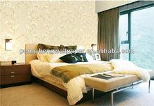 Paper Backed Fabric PVC/ Vinyl Wallpaper/ Wallpaper Rolls