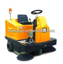 industrial ride on floor sweeper, dry clean machine/electric dust sweeper/street sweeper broom