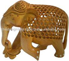 Carved Wooden Animals/Wood Carved Camel/Wood Carving Figures-SP