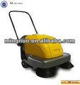 Pequeño empuje carretera equipo de limpieza, automático de piso sweeper, inalámbrico barrido