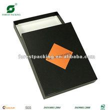 HIGH QUALITY BLACK CARDBOARD PAPER BOX(FP600259)