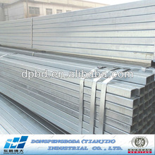 ASTM a500 grade b square steel pipe and tube