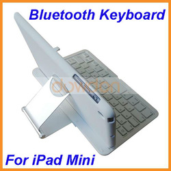 Best For iPad Mini Bluetooth Keyboard Case with Rotary Holder for iPad Mini